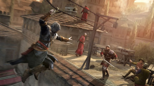 Assassin's Creed Revelations interview (with several people)