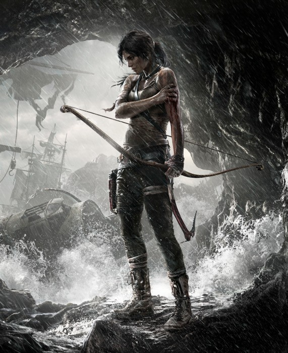 New-look Lara: younger, less sure in the world but just as deadly.