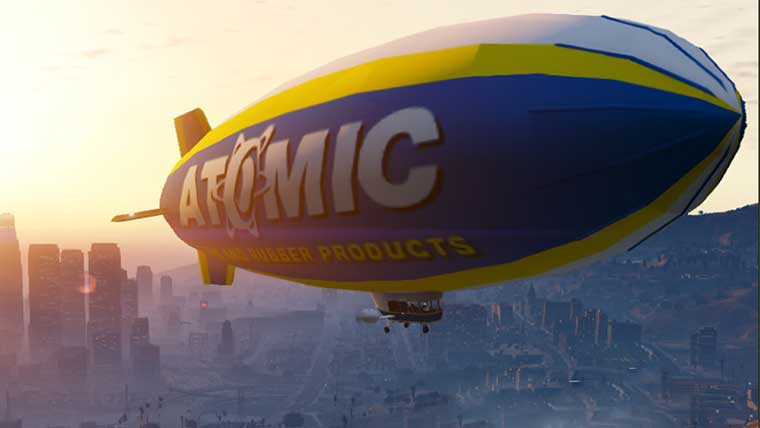 Would you like to fly in my beautiful, my beautiful ... blimp?