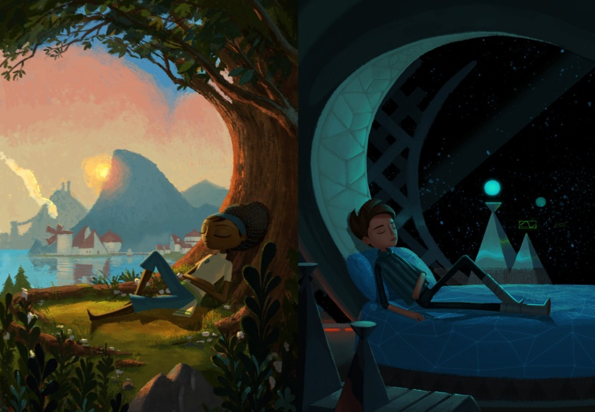 Broken Age: Tim Schafer's first point-and-click adventure game in quite a few years.
