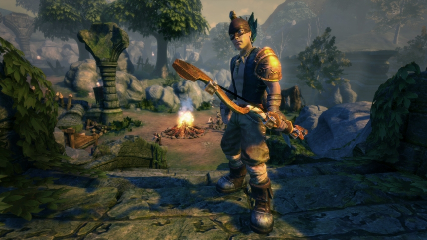 Fable Anniversary: the new look hero from the remake of the 2004 original.