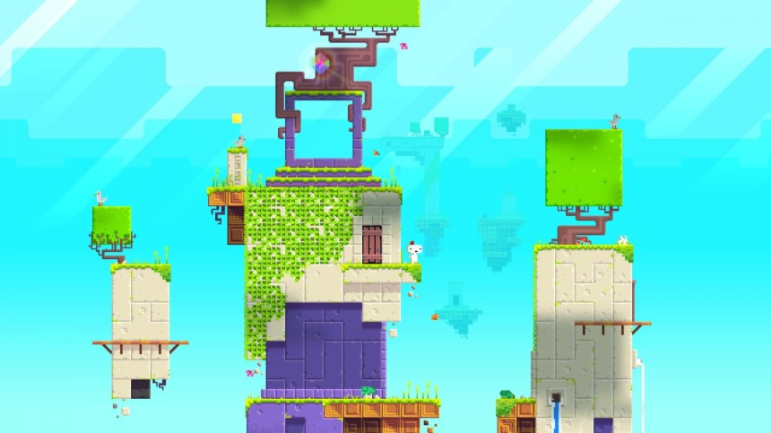 Fez: a game that started out on consoles and PC but seems perfectly suited to the handheld format.