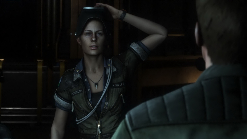 Heroine: Amanda Ripley is the daughter of Ellen Ripley, the main character in Ridley Scott's Alien movie.