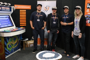 Connecting gamers: The Leaping TIger team want gamers to interact more.