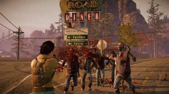 Zombie smashing: OK, there is a lot of zombie killing in State of Decay.