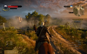 TheWitcher3horseback