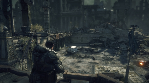 Same scene, different console: Embery Square as seen on the Xbox One ...