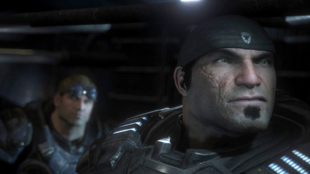 Look at those eyes: Marcus Fenix looks much more human in Gears of War Ultimate Edition.