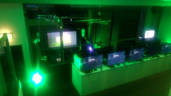 XONZ: Bathed in Xbox green, XONZ showcased upcoming Xbox One games.