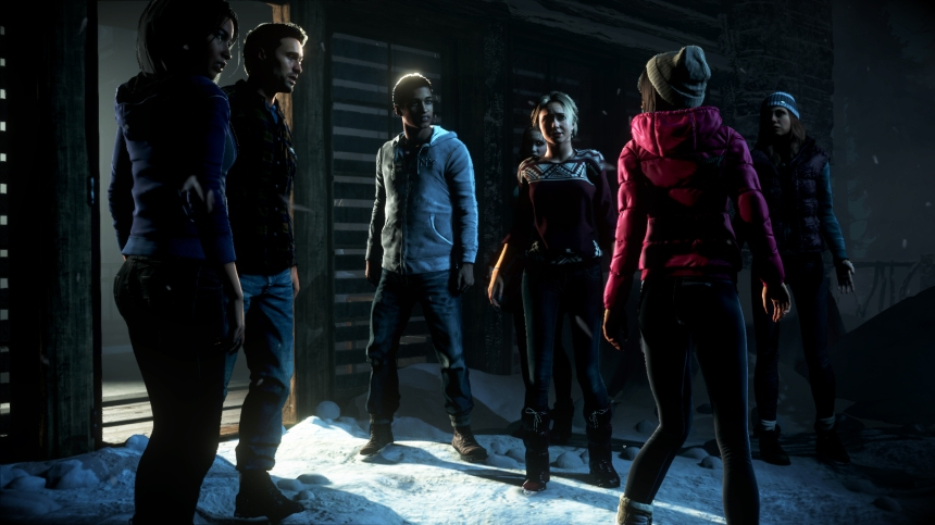 The cast of Until Dawn: They quite like what I've written about the game they star in, too.