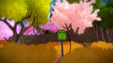 Pink blossum, meadows, puzzles on screens. What does it all mean?