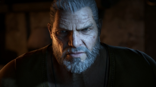 A welcome return: Marcus Fenix makes a welcome return in GOW4.