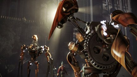 The clockwork soldiers freaked me out. Seriously.