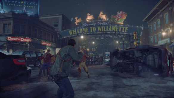 In Dead Rising 4, you return to Willamette, the setting for the first game.